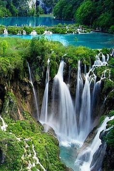 20 Travel Destinations You Won't Believe Actually Exist! This is oldest park in Southeast Europe and the largest national park in Croatia; Plitvice Lakes National Park is known for its cascading lakes. The lakes dazzle with their vast array of beautiful colors, covering every shade of blue and green imaginable.