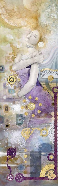 "Saatchi Art Artist Tom Fleming; Printmaking, ""SUBSTANCE (body)"" #art"