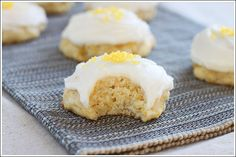 Got grits? Of course Southerners do! Try this fab recipe for Buttered Grits Cookies! Soft and cakey cookies with a hint of lemon! YUM! Unique treat!