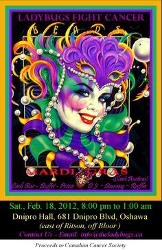 mardi gras posters | Relay for Life Cancer Fundraising Team Durham Region