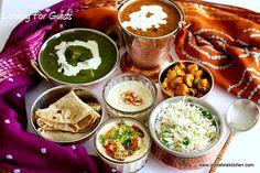 Jeyashri's Kitchen: COOKING FOR GUESTS SERIES #11 - NORTH INDIAN MENU