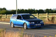 Nissan Almera GTi SR20DET GTiR Its a g20 but a hatch lol