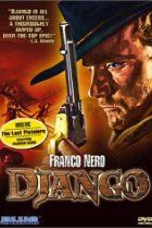 79.  Django (1966) A coffin-dragging gunslinger enters a town caught between two feuding factions, the KKK and a gang of Mexican Bandits. That man is Django, and he is caught up in a struggle against both parties.  Director: Sergio Corbucci Stars: Franco Nero, José Canalejas, José Bódalo, Loredana Nusciak