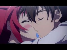 Shinmai Maou no Testament Burst -  Basara x Mio Romantic Moment