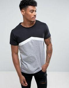 Camiseta en contraste de D-Struct