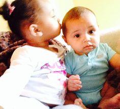 Precious mixed babies!!