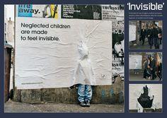 Australian Childhood Foundation: Invisible Children  Advertising Agency: JWT Melbourne Australia