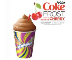 Get a Free Small Diet Coke Frost with a Splash of Cherry at 7-Eleven! Simply enter your phone number to get your free coupon valid on May 7th and 8th.  Cool! http://ifreesamples.com/free-diet-coke-frost-splash-cherry-slurpee-7-eleven/