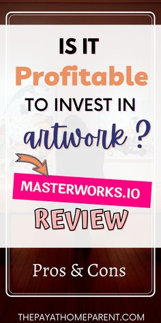 Learn how to make money by investing in popular art pieces. Masterworks.io makes it possible to invest in shares of art. You can become the proud owner of beautiful artwork and earn money when the art is sold. It's easy to get paid to flip art online without ever spending a fortune or handling the art yourself. Check my complete Masterworks review to learn more. How To Make Money, How To Get, How To Plan, Investing In Shares, Life On A Budget, Popular Art, Financial Planning, Finance Tips, Art Online