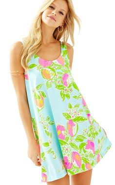 35e1cd339edec Carmel Printed Tank Dress. Lilly Pulitzer