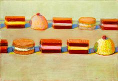 No post-work plans this week and feel like getting a little culture? Then stop Acquavella Galleries opening for iconic American artist Wayne Thiebaud tomorrow, September 30, 2014.