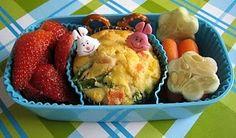 Simple Bento with Savory Muffin