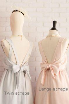 Robe mauve rose Mauve robe rose robe de demoiselle dhonneur