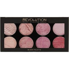 Makeup Revolution - Blush Palette in Blush Queen - New Hair Styles Cute Makeup, Beauty Makeup, Makeup Box, Makeup Sets, Awesome Makeup, Beauty Dupes, Drugstore Beauty, Blush Makeup, Makeup Case