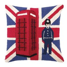 I pinned this Britannia Pillow from the Colorful Comforts event at Joss and Main!