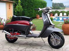 Phat gp/li Piaggio Vespa, Lambretta Scooter, Retro Scooter, Motor Scooters, Mini Bike, Small Cars, Sidecar, Motorbikes, 1980s
