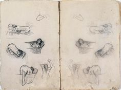 Baths    From the sketchbook of Edgar Degas (1834-1917)