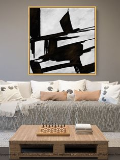 Large Canvas Art - Abstract Painting on Canvas, Contemporary Wall Art, Original Oversize Painting Large Canvas Art, Abstract Canvas Art, Large Painting, Canvas Wall Art, Mid Century Wall Art, Colorful Wall Art, Extra Large Wall Art, Office Wall Decor, Contemporary Wall Art