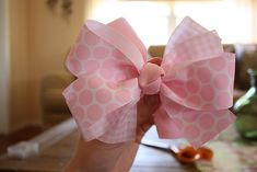 how to make bows~this is the easiest way I have found and they are by far the most beautiful and full