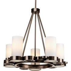Buy the Progress Lighting Brushed Nickel Direct. Shop for the Progress Lighting Brushed Nickel Bingo Five-Light Contemporary Up-Lighting Chandelier and save. Brushed Nickel Chandelier, Bronze Chandelier, Chandelier Ceiling Lights, Mini Chandelier, Bingo, Transitional Chandeliers, Contemporary Chandelier, Direct Lighting, Home Lighting