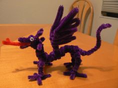 little purple dragon