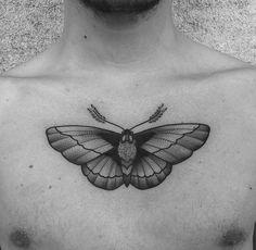 @messmerrr Moth Tattoo