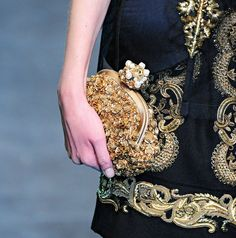 My BEADialogy...: Dolce And Gabbana Fall 2012 RTW part3 (Bags and Shoes)