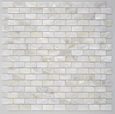 Seashell Pearl Mosaic Tile Mini Brick 12x12