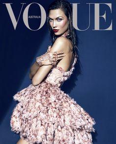 karlie kloss on the cover of Vogue Australia