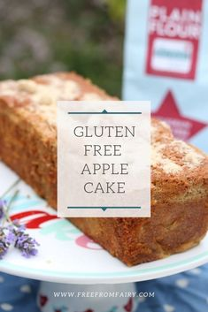 A delicious moist gluten free apple cake recipe. Gluten Free Apple Cake, Apple Cake Recipes, Gluten Free Cakes, Gluten Free Desserts, Dairy Free Recipes, Dessert Recipes, Vegetarian Recipes, Gluten Free Diet Plan, Gluten Free Cooking