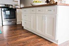 19 Budget-Friendly Kitchen Makeover Ideas | HGTV >> http://www.hgtv.com/design/rooms/kitchens/weekend-warrior-kitchen-remodel-pictures?soc=pinterest