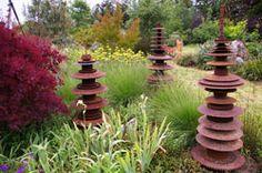 Sculpture for the garden at Sierra Azul Nursery & Gardens, Watsonville, CA. <-An amazing place to visit!
