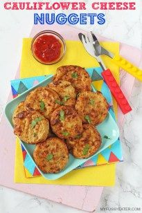Cauliflower Cheese Nuggets - My Fussy Eater