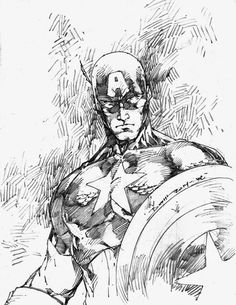 Captain America by Brett Booth Marvel Comics Superheroes, Bd Comics, Marvel Art, Marvel Heroes, Marvel Avengers, Comic Book Artists, Comic Artist, Comic Books Art, Captain America Coloring Pages