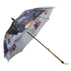 Chinese style brush umbrella