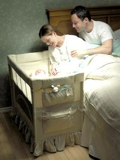 Arm's Reach Co-Sleeper: This is a must have for me!