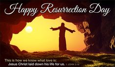 Send this FREE Happy Resurrection Day eCard to a friend or family member!  Send free Easter ecards to your friends and family quickly and easily on CrossCards.com. Share an animated Easter eCard or a cute and funny ecard with your family and friends, it's easy!  Find that perfect Easter card, add a personalized message, then press send!  That's all it takes to brighten the day of a friend with a FREE eCard!  CrossCards.com – Free Christian inspired online greeting cards.