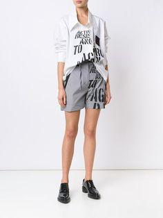 Vivienne Westwood Anglomania  шорты с завышенной талией