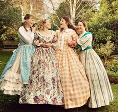 The March sister's - Little Women