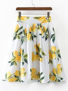 Waist Size(cm) :S:66cm, M:70cm, L:74cm Size Available :S,M,L Length(cm) :S:61cm, M:62cm, L:63cm Belt :NO Fabric :Fabric has no stretch Season :Summer Pattern Type :Print Silhouette :A Line Dresses Len