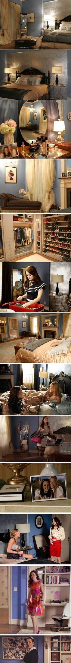 Blair's Room in Gossip Girl