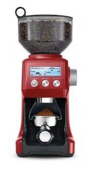 Coffee Grinder   Breville Smart Grinder in Cranberry Red