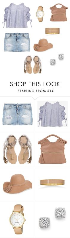 """Summer style"" by sandygil ❤ liked on Polyvore featuring Dsquared2, Caroline Constas, L*Space, BP., BillyTheTree, Kate Spade and Bloomingdale's"
