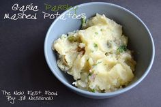 Garlic Mashed Potatoes in the Instant Pot - From the New Fast Food