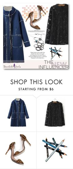 """""""beautifulhalo.com 6"""" by angelstar92 ❤ liked on Polyvore featuring Gianvito Rossi, Styli-Style, ASOS, women's clothing, women's fashion, women, female, woman, misses and juniors"""