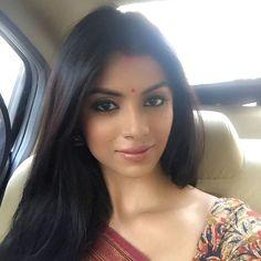 Sayantani Ghosh in Red.