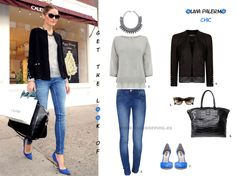 Look Chic - Olivia Palermo - Get the look