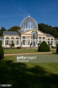 Stock Photo : The Conservatory in the grounds of Syon House.