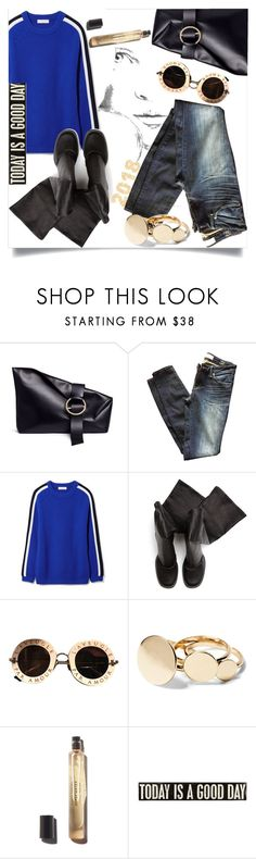 """TODAY IS A Good DAY"" by bine-jan ❤ liked on Polyvore featuring Liebeskind, Marc by Marc Jacobs, Tory Burch, Rick Owens, Gucci and Primitives By Kathy"