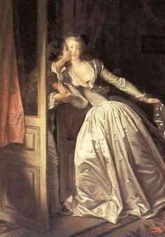 Fragonard ~ 'The Stolen Kiss'
